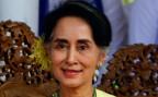 Die burmesische Regierungschefin und Aussenministerin Aung San Suu Kyi.