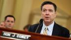 FBI-Direktor James Comey bei der Anhörung vor einem Kongressausschuss.