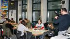 «Nicht nur einfach», sagen die jungen Bauzeichnerinnen und Bauzeichner über ihr Verhältnis zu Zugewanderten.