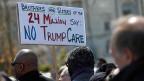 Die Abstimmung über die Revision von «Obamacare» könnte für US-Präsident Donald Trump zur Zitterpartie werden.