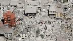 Beim verheerenden Erdbeben vom 24. August 2016 wurde die italienische Stadt Amatrice fast vollständig zerstört.