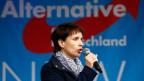 Frauke Petry, Parteisprecherin und Vorsitzende der Alternative für Deutschland AfD.
