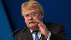 Elmar Brok am 29. Parteitag der CDU in Essen.