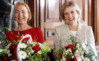 Die neugewählten Solothurner Regierungsrätinnen Susanne Schaffner-Hess (SP) und Brigit Wyss (Grüne).