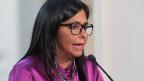 Venezuelas Aussenministerin Delcy Rodriguez: «Um unsere Würde zu wahren, verlassen wir die OAS.»