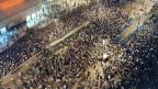 Über 70.000 Menschen zogen am 9. Oktober 1989 in der ersten grossen Montagsdemonstration durch die Leipziger Innenstadt. In den Wochen zuvor hatte das Regime Versammlungen immer wieder aufgelöst.