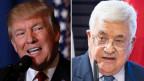 US-Präsident Donald Trump und Palästinenserpräsident Mahmud Abbas.