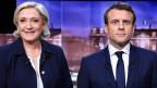 Marine Le Pen und Emmanuel Macron.
