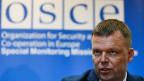 OSZE-Friedensvermitter Alexander Hug.