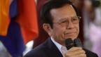 Oppositionsführer Kem Sokha tauchte vorübergehend ab.