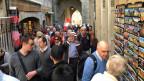 Carcassonne besuchen viele Franzosen, Spanier, Deutsche und Engländer.