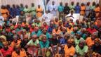 Die 82 Schulmädchen, die von Boko Haram freigelassen wurden.
