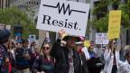 Widerstand gegen Trump in Form des Science March.