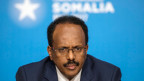 Somalias Präsident Mohamed Abdullahi Mohamed während der Somalia-Konferenz in London am 11. Mai 2017.