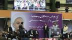 Wahlveranstaltung von Rohani-Anhängern in Teheran.