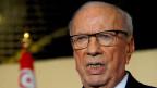 Tunesiens Präsident Beji Caid Essebsi.