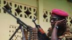 Archivbild. Soldat in Bangui.