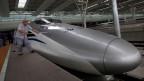 Ein Zug von «China Railway Rolling Stock».