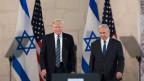 US-Präsident Donald  Trump (links) und der isralische Premierminister  Benjamin Netanyahu.