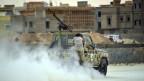 Kämpfe zwischen islamistischen Milizen und Regierungstruppen in Bengasi 2014.