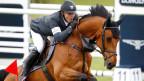 Der Schweizer Paul Estermann auf seinem Pferd «Lord Pepsi».