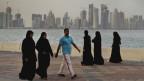 Die Hauptstadt von Doha im Emirat Katar.