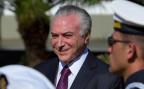 Der brasilianische Präsident Michel Temer zeigt sich erfreut nach dem Gerichtsurteil.