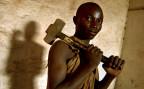 Ein Minenarbeiter in Kongo. 50 Prozent des weltweit geförderten Kobalt, werden in Kongo abgebaut.