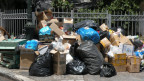 In Athen wachsen die Abfallberge. Und es beginnt zu stinken.