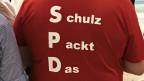 SPD-Delegierter in Dortmund.