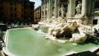 Trevibrunnen in Rom/Italien.