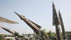 Raketen in Nordkorea.