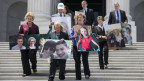 Demokratische Senatoren kämpfen gegen die Revision von «Obamacare» in Washington.