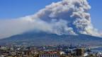 Waldbrände am Vesuv bei Neapel.