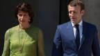 Bundespräsidentin Doris Leuthard und der französische Präsident Emmanuel Macron.
