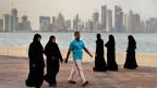 Sicht auf Doha, Katar.