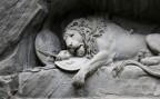 Das Löwendenkmal in Luzern.