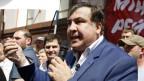 Georgiens Ex-Präsident Michail Saakaschwili am 30. Mai in Kiew.