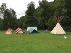 Sommerlager der Pfadi Friesenberg in Toggenburg