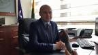Stadtpräsident Eugenijus Sabutis von Jovana. Diemtigtal.