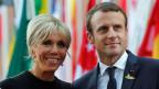 Brigitte und Emmanuel Macron.