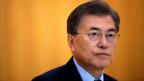 Der südkoreanische Präsident Moon.