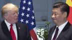US-Präsident Donald Trump und der chinesische Präsident Xi Jinping.