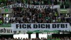 Protest der Fans: Der Deutsche Fussball-Bund steht in der Kritik.