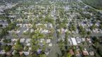 Starke Überflutungen im Südosten von Texas.