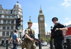 Britischer Soldat in London