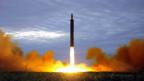 Das Bild zeigt den Start einer Rakete