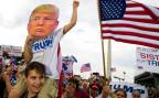 Anhänger von Donald Trump demonstrieren in Washington DC für «ihren» Präsidenten.