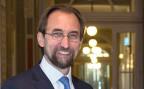 Der Uno-Hochkommissar für Menschenrechte, Zeid al-Hussein.