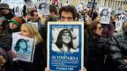 Archivbild aus dem Jahr 2011: Demontration auf dem Petersplatz in Rom.
